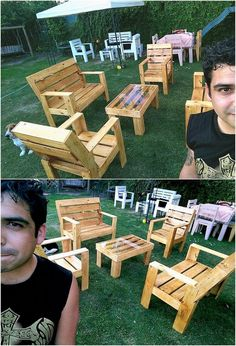 Sometimes the movement of the heavy designed furniture ideas is rather difficult to do from one place to another. In all such prospects, we would bring you out with the mind-blowing idea of the pallet furniture concept for you. The furniture designed artwork is becoming the latest trend of home embellishments.