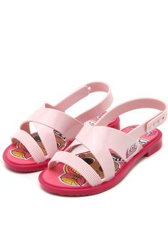 Sandália Infantil Grendene Kids LOL Pink + Bolsa LOL