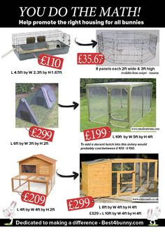 Larger and much more beneficial housing for rabbits can actually cost less than some accommodation that is just too small. Larger and much more beneficial housing for rabbits can actually cost less than . Rebecca Divers mazarath Rabbit Larger an Information Websites, Large Rabbits, Small Rabbit, Raising Rabbits, Wendy House, Pet Hotel, Animal Habitats, Animal Shelters, Rabbit Hutches