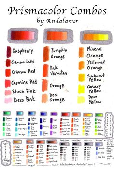 TUTORIAL: Prisma Pencil Combos by andalasur.deviantart.com on @deviantART