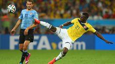 Jugadas destacadas: Colombia 2-0 Uruguay