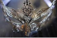 how much fun! to have a masquerade themes wedding party or reception!