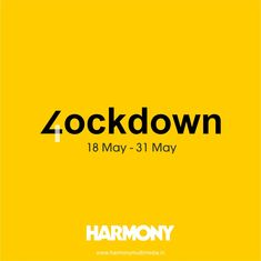 From the first to the third, you have followed all the rules of safety guidelines with great vigor and patience. Now, do it for a few more days of Lockdown 4.0.   Stay safe, Stay at home and maintain the Harmony.   #HarmonyMultimedia #Harmony #AdvertisingAgency #MultimediaAdvertisingAgency #Lockdown #Lockdown4.0 #StayHome #StayHomeStaySafe #India