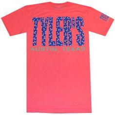Tyler's :: TYLER'S :: AUSTIN :: TEES :: TYLERS PRNT BLOC $24.99