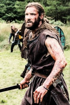 Rollo (Clive Standen) at work in Vikings