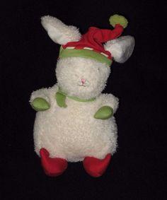Bunnies by the Bay Plush Elf Bunny Stuffed Animal Lovey Christmas