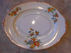 Stunning and large serving platter by W.H. Grindley by QuaylesNest