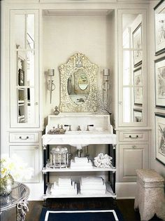 design- functional and beautiful - notice in mirror same vanity opposite wall(see floorplan) ...not crazy about mirror