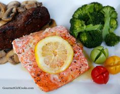 Gourmet Girl Cooks: Grilled Mesquite Chipotle Wild Copper River Alaskan Salmon - Sustainable Low Carb