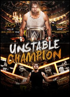 This is an awesome edit... well done... also Dean will be Wwe World Heavyweight Champion... BELIEVE THAT<3