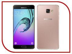 Сотовый телефон Samsung SM-A310F/DS Galaxy A3 (2016) Pink Gold  — 13918 руб. —