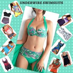 hot sale underwire swimsuits 2017