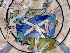 Weaving the threads of Scotland Scotland People, Scottish Parliament, Wildlife Park, Tapestries, Whisky, Tartan, Blankets, Flora, Moose Art