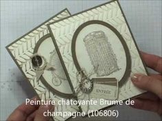 Stampin UP - Embosser avec les Framelits de Stampin UP - YouTube