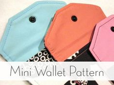 Free Mini Wallet Sewing Pattern for Beginners