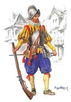 Arquebusier 16th Century