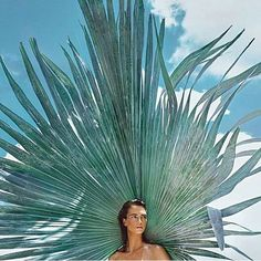 Crista Cober in 'La Palmeraie' by Txema Yeste for Numéro N°165, August 2015