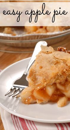 You and your kids will LOVE this easy apple pie recipe. It's fun to make - and even more fun (and delicious) to eat. It's easier than it looks - promise!