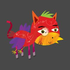 Awesome 'BirdCat' design on TeePublic!