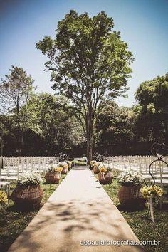 Casamento no Campo - Quinta das Bromélias, Campinas - SP, Brasil Outdoor Wedding - Brazil