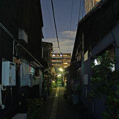 夜散歩のススメ「佃2丁目路地」 東京都中央区