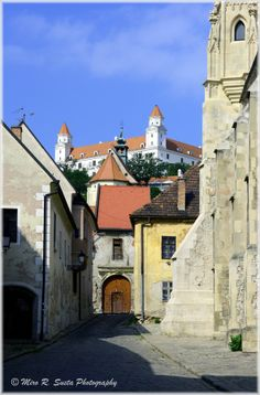 Old Town #Bratislava #Castle #Slovakia