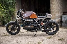 BMW K100 Cafe Racer Eric Kalter - Cooter #motorcycles #caferacer #motos | caferacerpasion.com