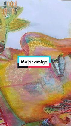 Litca(@litca.art) on TikTok: Amigo💗 #artprocess #arte #dog #10kartist #painting #artista #pintura #oilpastels #animallovers #perro #color #art #parati Process Art, Color Art, Dogs, Artwork, Movie Posters, Painting, Animals, Design, Friends