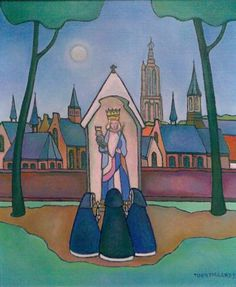 Toon Tieland Sacred Art, Netherlands, Folk Art, Cool Pictures, Aurora Sleeping Beauty, Faith, Disney Characters, Drawings, Illustration