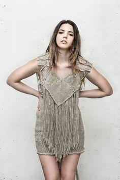 Macrame Dress by AtelierKliko on Etsy