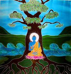 meditate under the bodhi tree.