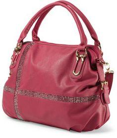 Marcita Studded Design Satchel Handbags T J Ma Rich Clutches