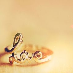 a love ring, to always have some love with you