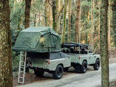 Land Rover Series III adventure rig.