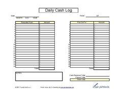 cash register till balance shift sheet in out template google