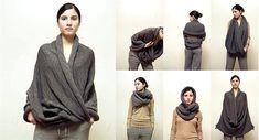 daniela-pais showing how to knit reusable, remakeable, unusual, simple designs.