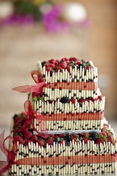 My White Chocolate Cheesecake Wedding Cake | Weddingbee Photo Gallery