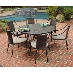 Shop For The Home Styles Stone Harbor Patio Dining Set At AHFA   Your  Furniture U0026 Mattress Store