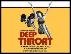 Deep Throat FRIDGE MAGNET X-Large Linda Lovelace Porn Movie Posters Canvas Print