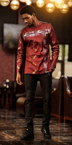 Spiffy Fashion 2020 Captivating Native Wears for Men - African Inspired Clothing, African Clothing For Men, African Shirts, African Print Fashion, African Fashion Dresses, African Outfits, African Attire, African Wear, African Dress