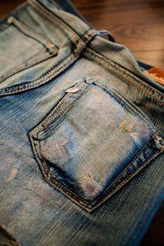 Pure Blue Japan #denim #jeans #rugged #menswear #fashion