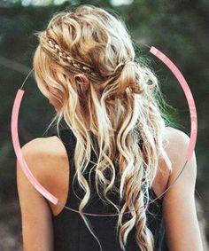 13 Half Bun Hairstyles - Half Up Half Down Hair Tutorials