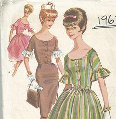 Vintage 1960s McCalls 6275 Sewing Pattern