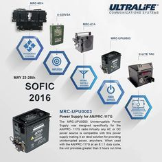 Ultralife Communications Systems (ulcs) on Pinterest