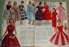 Aldens Fashion Catalog Spring Summer 1958
