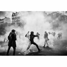 "4,009 Likes, 23 Comments - Irimages (@irimages) on Instagram: ""Clashes have broken out between French police and demonstrators during a May Day parade in Paris,…"""