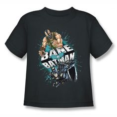 Dark Knight Rises Bane Vs Batman Kids T-Shirt $14.99