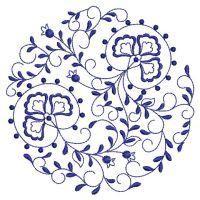 Blue Onion Circle