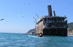 relitti nel mare