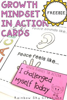 Growth Mindset in Action cards {Freebie} - Real Time - Diet, Exercise, Fitness, Finance You for Healthy articles ideas Primary School Teacher, Primary Classroom, New Teachers, Literacy Stations, Literacy Centers, School Resources, Teaching Resources, Daily 5 Activities, Action Cards
